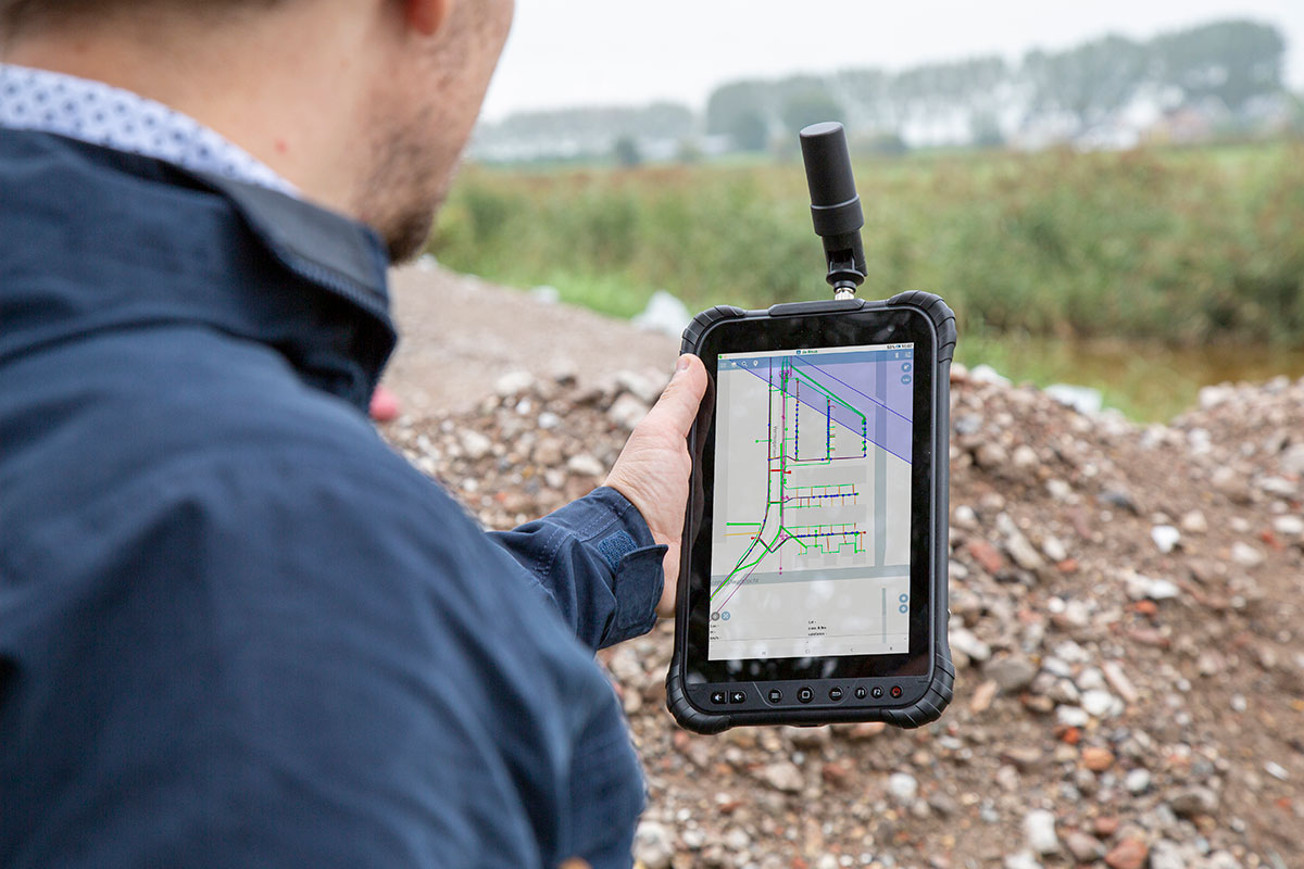 geolantis klic viewer app tablet